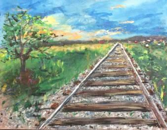 Front Range Railroad Tracks