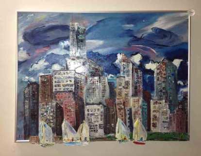 City, Boats, & Storm
