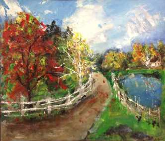 The Pond in the Fall