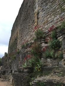 Exterior wall of Richmond Castle
