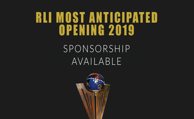 RLI Most Anticipated Opening 2019