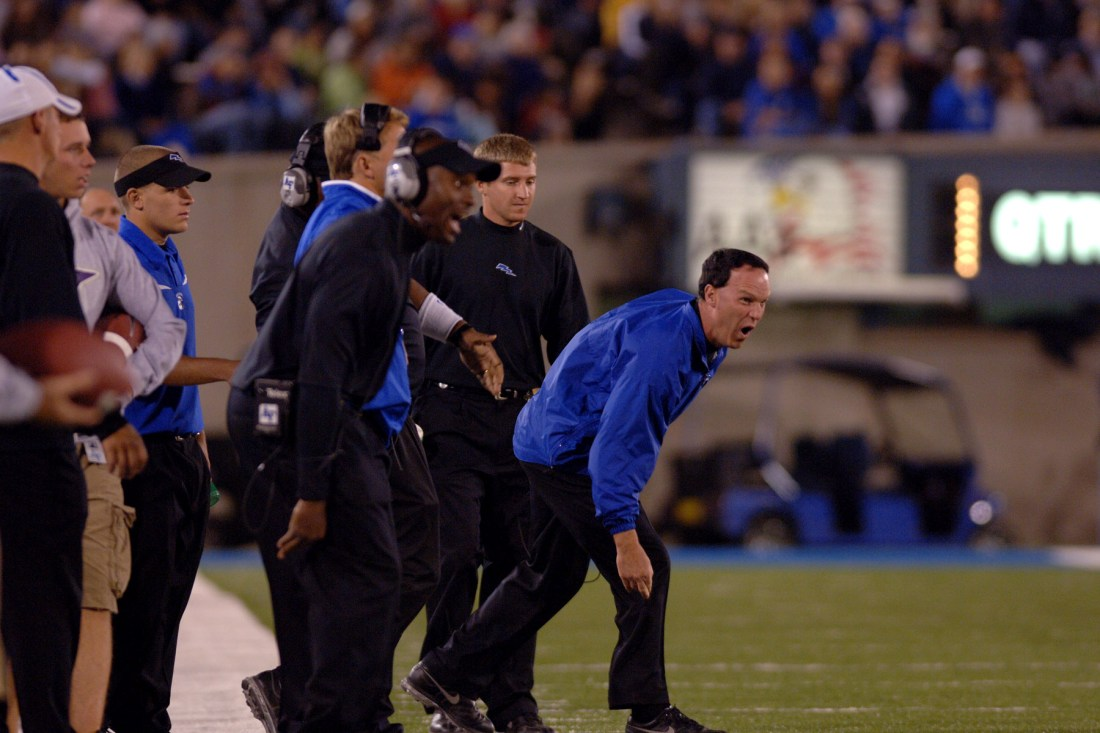 Air Force Coach Yelling
