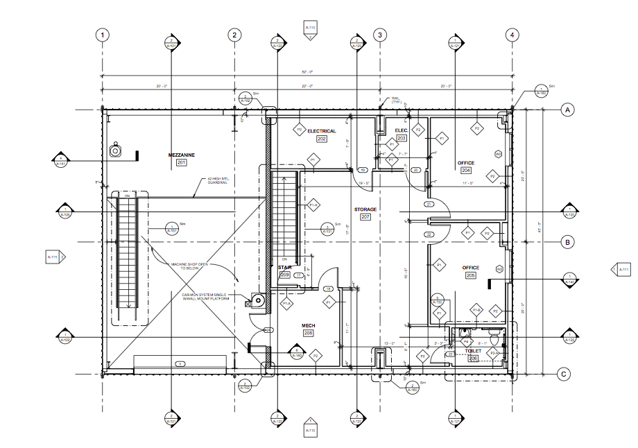 DRAFTING SAMPLE – FLOOR PLAN