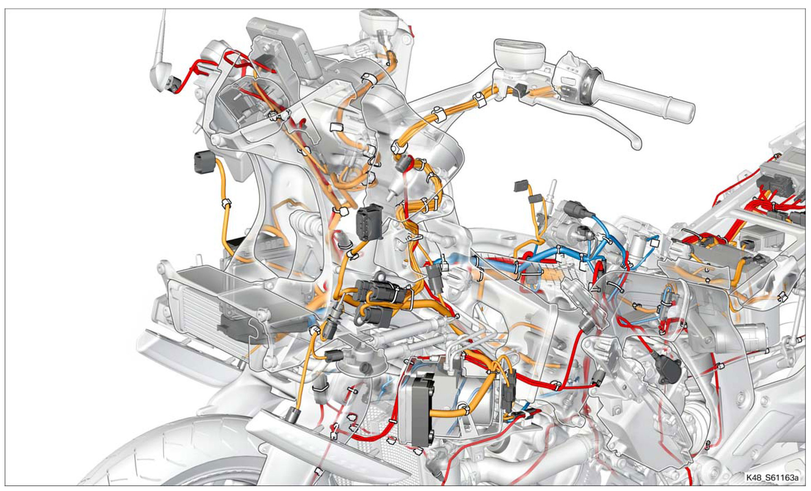 hight resolution of wiring diagrams how the k1600 is wired bmw k1600 forum bmw k1600gtl wiring diagram bmw k1600gtl wiring diagram