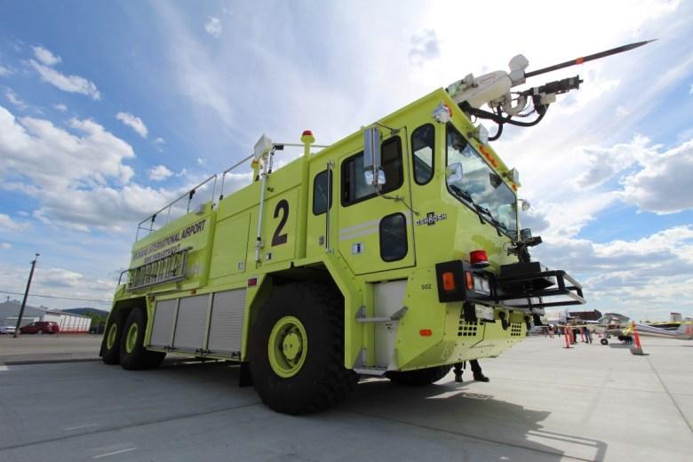 Felts Field Fire Truck