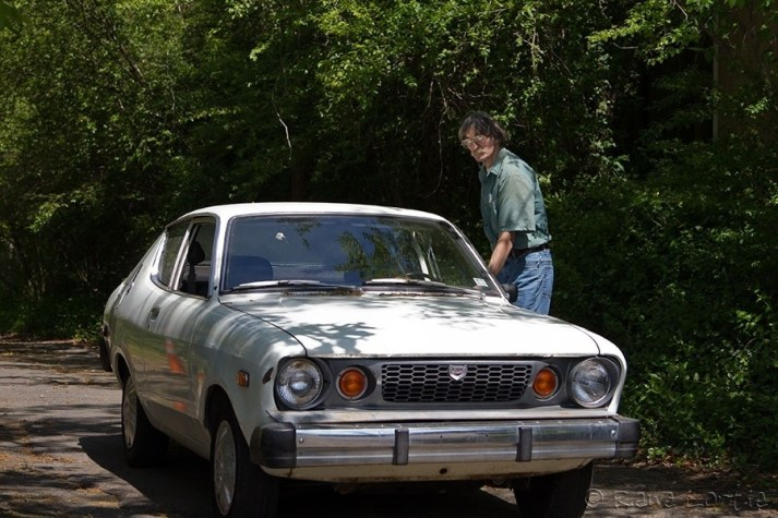 La Datsun B210 de Randy
