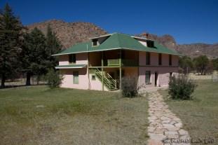 La maison où a vécu la famille propriétaire du ranch Faraway