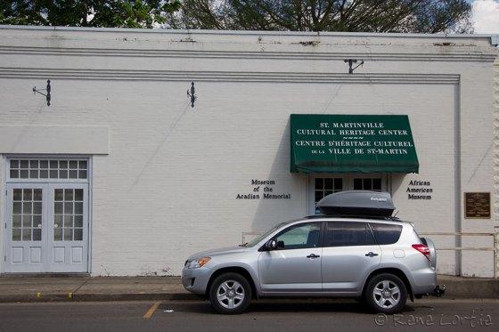 African American museum et Museum of the Acadian Memorial