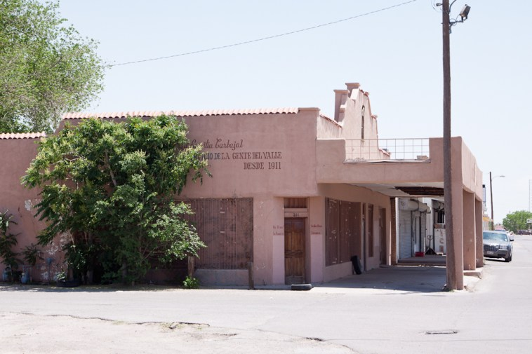 En banlieue d'El Paso