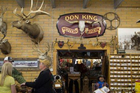 La sellerie et le musée western de Don King