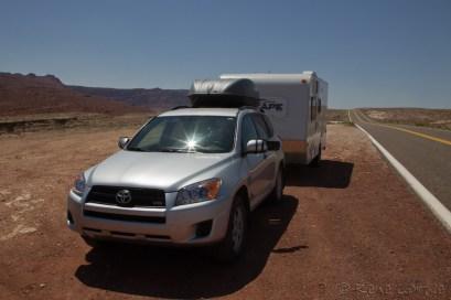 Sur la 89A au nord du Grand Canyon