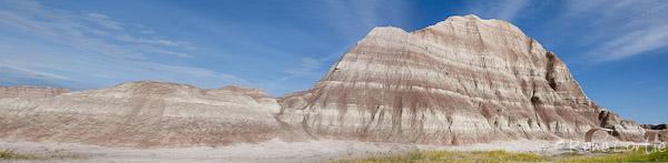 Le parc national des Badlands au Dakota du sud