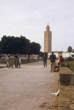 Scène de rue à Rabat