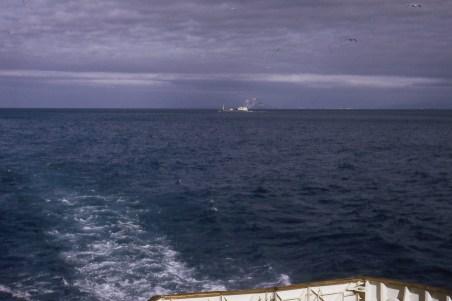Gibraltar vue du bateau traversier
