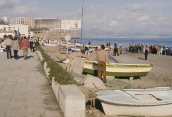 Pêcheurs sur la Carihuela de Torremolinos