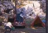 Camping de Pakostane - jour du départ après y avoir passé 3 jours de rêve.