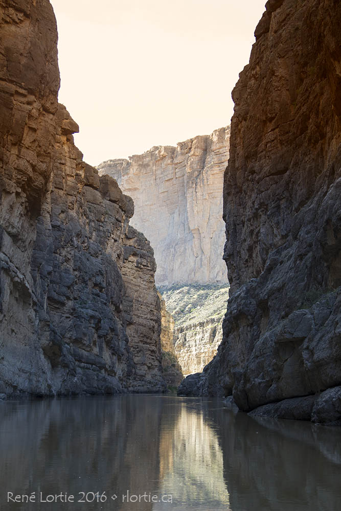 Santa Elena Canyon - La vue au bout du sentier