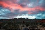 Coucher de soleil à Arch Rock, Valley of Fire, Nevada
