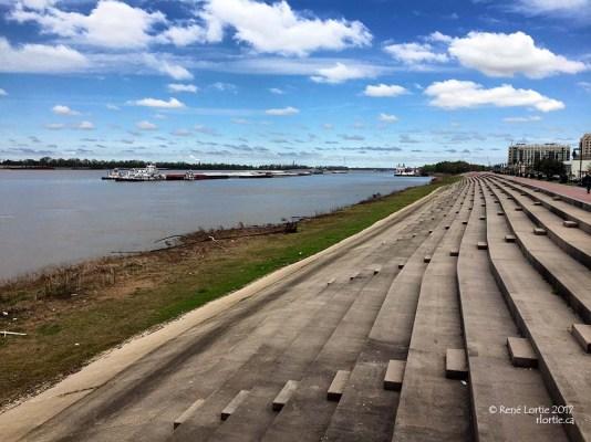 Baton Rouge et le Mississipi