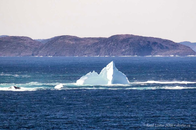 Iceberg vu de Brimstone Head