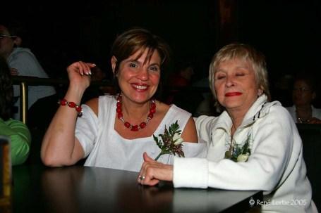 Liza Frula et Jacqueline Vézina