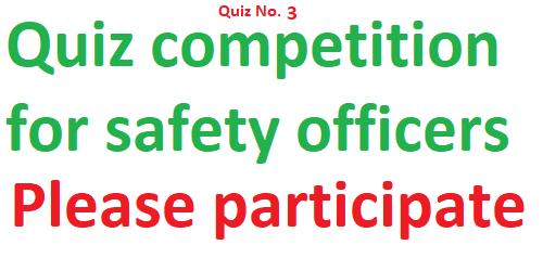 Rls human care Safety quiz 3