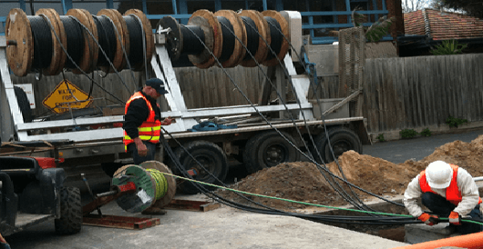 WIRE PULLING WORK SAFETY