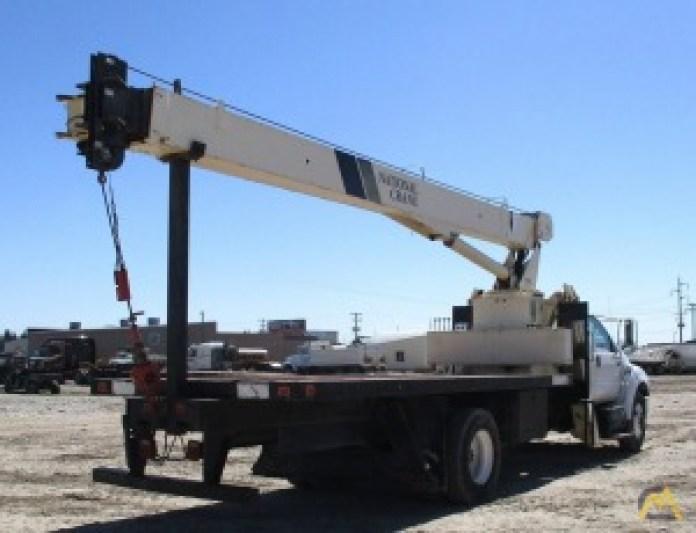crane boom condition