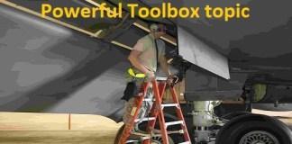 Poratable ladder toolbox talk