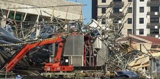 Noida scaffolding collaps