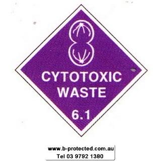 Cytotoxic Waste symbol