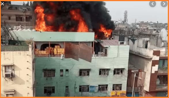 Delhi fire live update