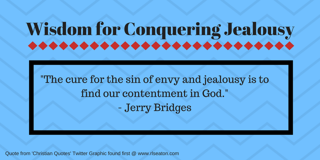 Conquering jealousy