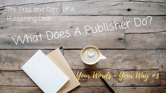 What does a publisher do?