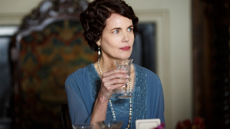 Countess at Downton Abbey