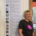 Beverley Marten of Dunedin Walking Tours