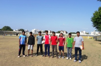 Football Selection Trials at Lalbahadur Sharsthi Stadium, Akola