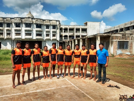 Kabaddi Mean Team particiated in I.C. Toournament held at S.K. College, Akola