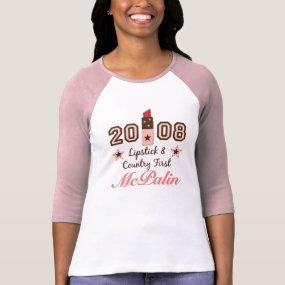 Lipstick vote t-shirt