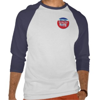 NowPower - VOTE Raglan Jersey T-Shirt shirt