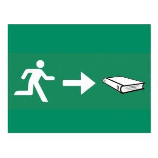 Notausgang zum Buch für Bücherwürmer & Leseratten