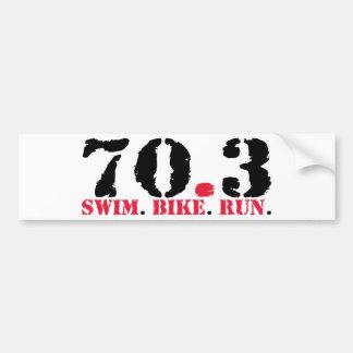 Ironman Bumper Stickers, Ironman Car Decal Designs