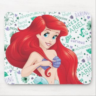 Adventurous Ariel Disney's The Little Mermaid Mouse Pads
