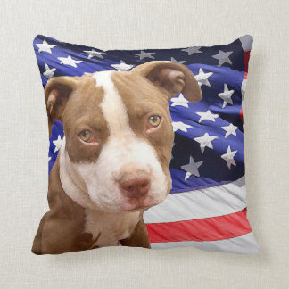 Pitbull Pillows  Pitbull Throw Pillows  Zazzle