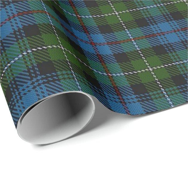 Clan MacKenzie Scottish Tartan Wrapping Paper Zazzleca