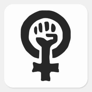 feminist feminism logo design