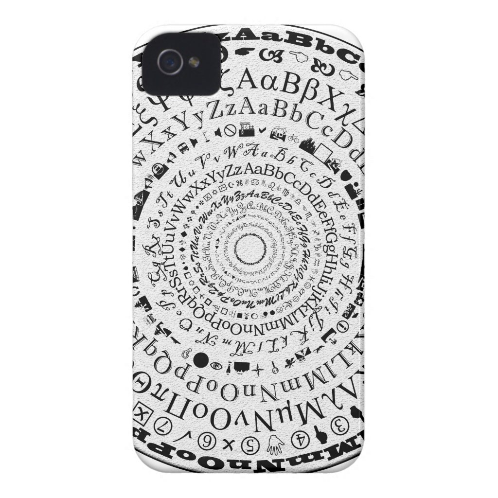 Fontastic Wheel Case-Mate iPhone 4 Cases