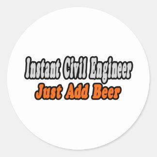 Civil Engineer Jokes Stickers, Civil Engineer Jokes Custom