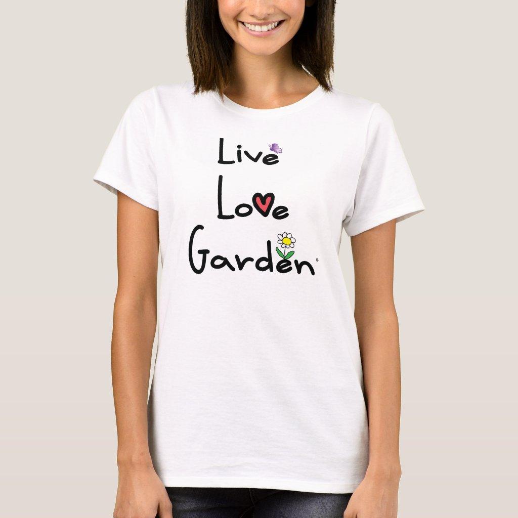 Live Love Garden Basic Tee