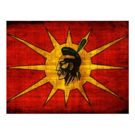 Mohawk People Flag Postcard  Zazzleca